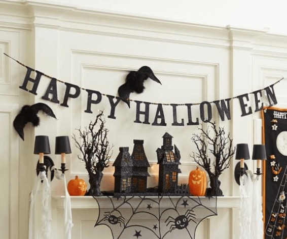 Furniture finds 10 creepy yet chic halloween decor items for Halloween home decorations